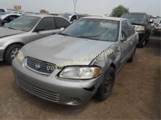 2000 Nissan Sentra 3N1CB51D6YL324562 Silver