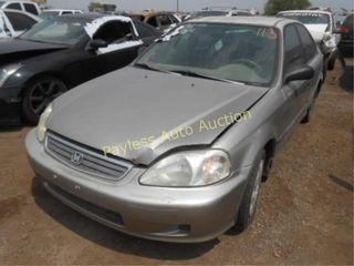 2000 Honda Civic 1HGEJ6627YL046662 Silver