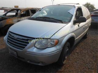 2006 Chrysler Town & Country 2A4GP64L36R631741 Sil