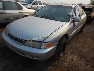 1997 Honda Accord 1HGCD5659VA096442 Gray