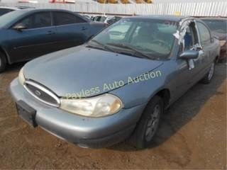 2000 Ford Contour 1FAFP66L4YK129794 Blue