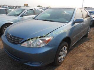 2004 Toyota Camry 4T1BE32KX4U888552 Blue