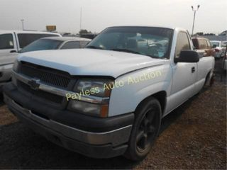 2004 Chevrolet Silverado 1GCEC14X14Z257096 White