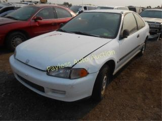 1995 Honda Civic 2HGEJ2223SH570104 White