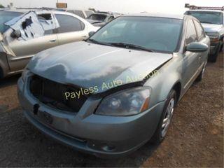 2006 Nissan Altima 1N4AL11D06C118825 Green