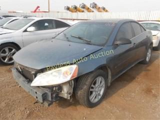 2006 Pontiac G6 1G2ZG558464254380 Black