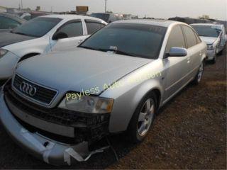 2000 Audi A6 WAUED24B3YN087115 Silver