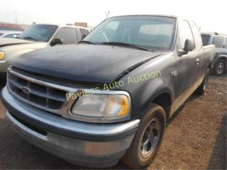 1997 Ford F150 1FTDX1722VKC87170 Blue