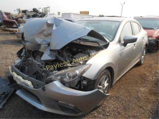 2016 Mazda Mazda3 JM1BM1U7XG1335894 Gray