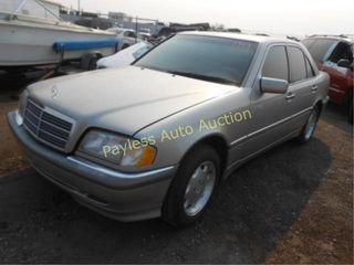 1998 Mercedes C280 WDBHA29G4WA570564 Tan