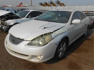 2004 Toyota Camry Solara 4T1CA38P74U014033 White