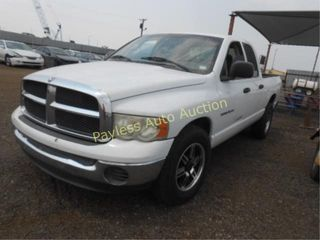 2003 Dodge Ram 1D7HA18N135154754 White
