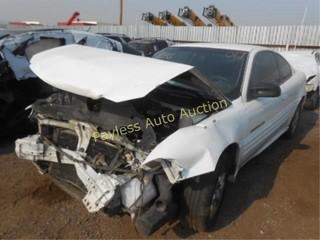 2001 Pontiac Grand Am 1G2NE12T61M509609 White