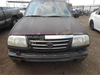 2002 Suzuki XL7 JS3TY92V724103996 Maroon