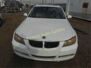 2006 BMW 3 Series WBAVB135X6PT01742 White