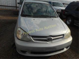 2003 Toyota Echo JTDBT123730285085 Silver