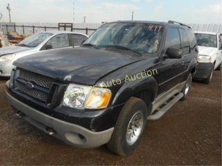 2001 Ford Explorer Sport 1FMYU60E81UA89876 Black