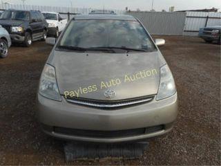 2006 Toyota Prius JTDKB20U863172043 Gold