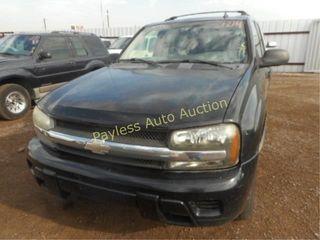 2007 Chevrolet Trailblazer 1GNDT13S272112350 Black