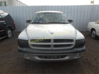 2002 Dodge Dakota 1B7FL36X92S502357 Silver