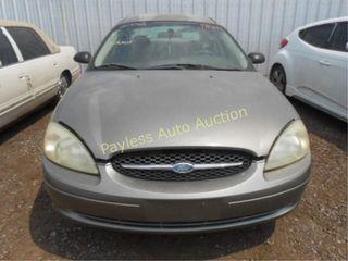 2002 Ford Taurus 1FAFP52U52A242742 Grey