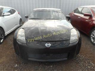 2003 Nissan 350Z JN1AZ34E33T001893 Black
