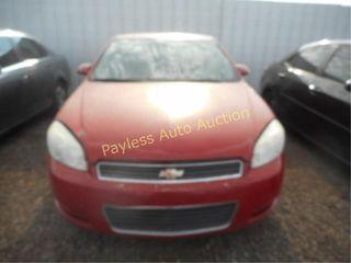 2008 Chevrolet Impala 2G1WB58K889115866 Red