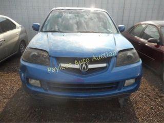 2004 Acura MDX 2HNYD18244H559873 Blue