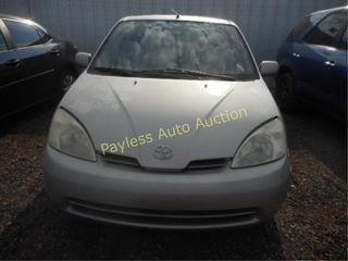 2002 Toyota Prius JT2BK12UX20046603 Silver
