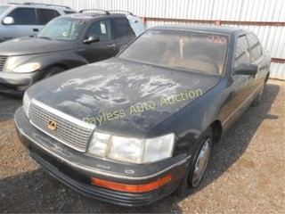 1994 Lexus LS 400 JT8UF11E8R0190898 Green