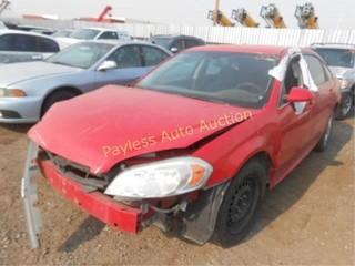 2009 Chevrolet Impala 2G1WB57K791262259 Red
