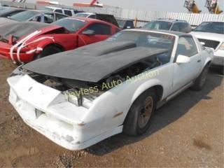 1982 Chevrolet Camaro 1G1AP87H8CL190460 White