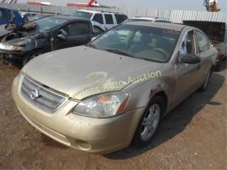 2003 Nissan Altima 1N4AL11D53C109078 Tan
