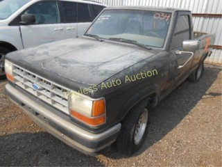 1991 Ford Ranger 1FTCR10A6MUB12785 Gray