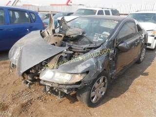 2011 Honda Civic 2HGFG1B63BH518858 Gray