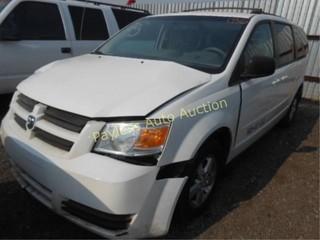 2009 Dodge Grand Caravan 2D8HN44E99R648538 White