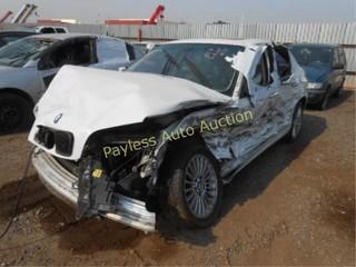 2001 BMW 3 series WBAAV53491FJ64215 White