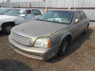 2003 Cadillac Deville 1G6KD54Y33U193299 Gold