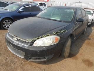 2006 Chevrolet Impala 2G1WD58C569185079 Black