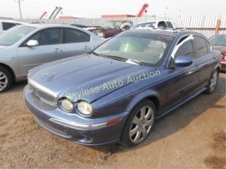 2004 Jaguar XType SAJEA51C64WD59918 Blue