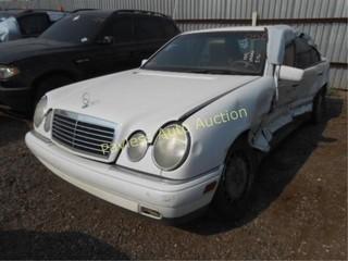 1998 Mercedes EClass WDBJF65F6WA676005 White