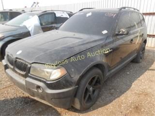 2004 BMW X3 WBXPA93444WA31162 Black