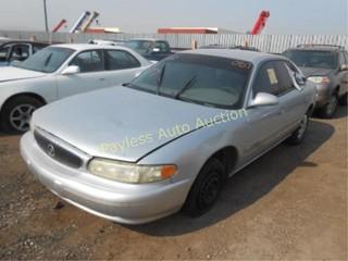 2001 Buick Century 2G4WS52J211201830 Silver