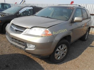 2003 Acura MDX 2HNYD18703H521261 Tan
