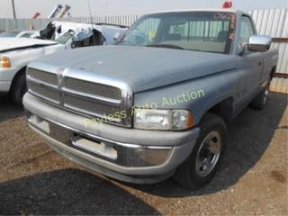1995 Dodge Ram 1B7JC26Z1SS387534 Gray