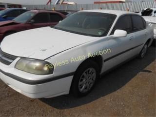2002 Chevrolet Impala 2G1WF52E229381284 White