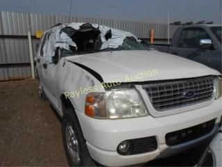 2004 Ford Explorer 1FMZU73K54UC24585 White