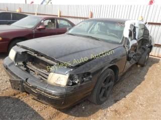 2007 Ford Crown Victoria 2FAHP71W07X145941 Black