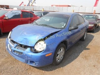 2005 Dodge Neon 1B3ES56C75D266227 Blue