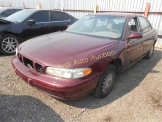 2000 Buick Century 2G4WS52J8Y1133012 Maroon